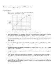 Numeric Response Practice Questions for Final.docx