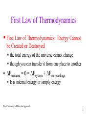 Entropy, Gibbs Free Energy