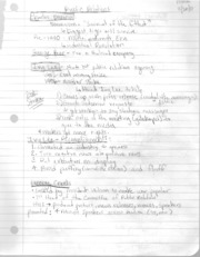 Public relations and cumulative effects theory Notes