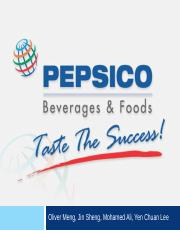 stretegic analysis of pepsi Pepsico has comprehensive corporate standards and policies to govern  operations, ensure accountability for actions and guide business to success.