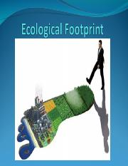 Ecological Footprint.ppt