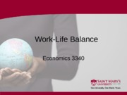 6 Section Six - Work Life Balance - Summer 2013 B