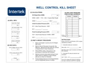 Lab#8_ Kill Sheet - Intertek