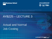 AYB225 Lecture 03 Sem2  2015