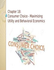Chapter 18 - Consumer choice.pptx