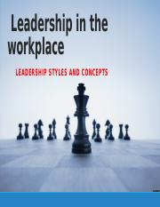 Leadership in the workplace.pptx