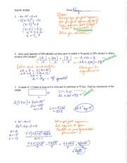 Worksheet 3 with Answers