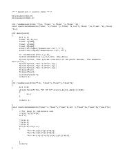 ENGM 1081 Computer programming Assignment solution 9