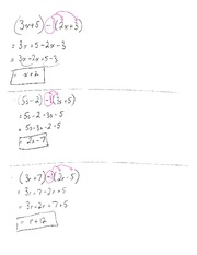 Algebra Expanding And Simplifying Class Note For MPM 1D0