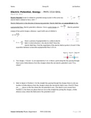 ElectricPotentialFields_solutions