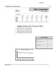 Com446 Stock Valuation Report Template.docx