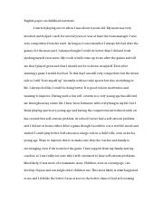 English Paper on childhood narrative.docx