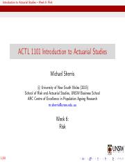 ACTL1101Week6Lecture.pdf
