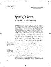 Spiral of Silence Theory (2)