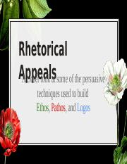 Rhetorical Appeal Techniques (Recovered)