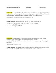 PROBLEM 47 & 48 May 24 2010
