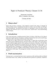 notes_class_11_14_producer_theory