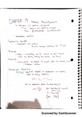 Chemical Thermodynamics notes