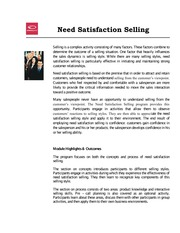 AG-FL-Need-Satisfaction-Selling