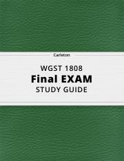 WGST 1808- Final Exam Review.pdf