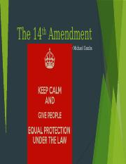 The 14th Amendment Project.pptx