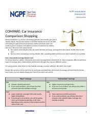 COMPARE_ Car Insurance Comparison Shopping (#2).docx