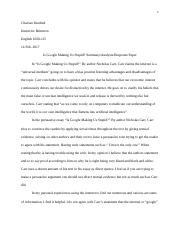 Chavian Kindred Essay 1 Instructor Britton 2-14-17 - Copy