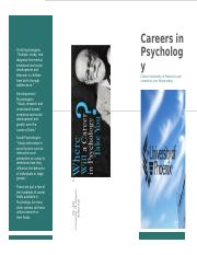 Careers in Psychology.docx