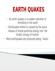 EARTH QUAKES.pptx