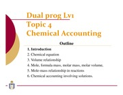 04 Chemical accounting