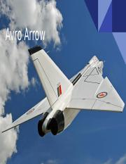 AVRO ARROW .pptx