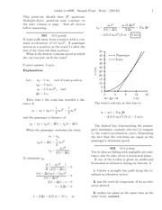 Sample physics final