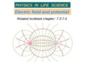 16_A Electric field and potential