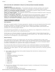 Communicable Disease Task 2 docx - Requirements A Select one of the