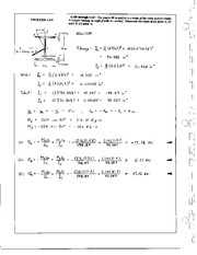 408_Mechanics Homework Mechanics of Materials Solution