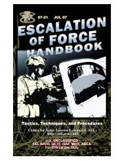 07-21 ESCALATION OF FORCE HANDBOOK