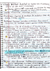 Geo 103 Class Notes- Ecosystem