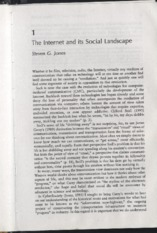 The Internet and its social landscape_Jones