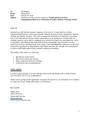 Executive Summary Final Report