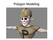 Polygon Modeling