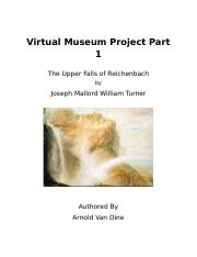 Virtual Museum Project Part 1.docx