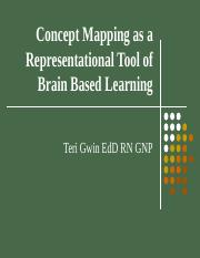 Concept Mapping as a Representational Tool of Brain 2013.ppt