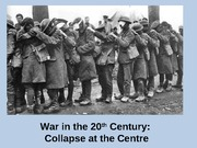 March 20 - Wars and Revolutions in the early 20th Century