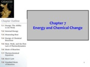 Chapter 7 Energy and Chemical Change(1)