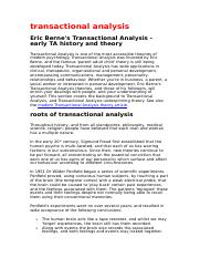 transactional analysis.doc