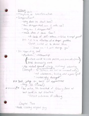 Ortberg Class Notes