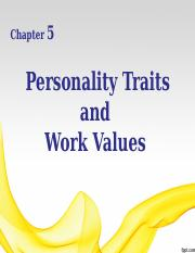 chap 5_personality and work values_dr rosmah_161