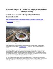 Economic Impact of London 2012 Olympic Three articles.pdf