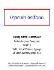 Opportunity_Identification-Ch3.ppt