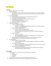 BMGT 463 Study Guide Spring 2015